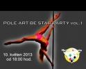 Pátek 10.5.od 19.00 hod.akrobacie na tyči-pole dance v Harlequinu Praha, vstup volný