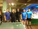 Závodní týmy ve stolním tenisu v kulečníkovém billiardovém klubu Harlequin Praha