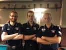 Start týmu Harlequin Praha A v poolbillirdové extralize 2014