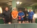 V úterý 27.5.2014 pivo zdarma pro hráče turnaje ve ping pongu na oslavu postupu Harlequinu A
