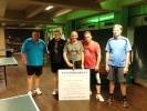 Honza Hamáček opět víězí, Jarda Vašák ovládl kategorii Hoby v turnaj ve stolním tenise