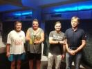 Double Ládi Doležela v úterý 23.9. v ping pongovém turnaji v kulečníkovém klubu Harlequin Praha