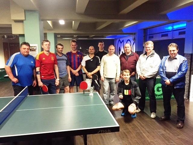 Pět výsledků turnajů ve stolním tenise a jeden v kulečníku. Tomáš Dorko v čele, Robert Smida třetí!