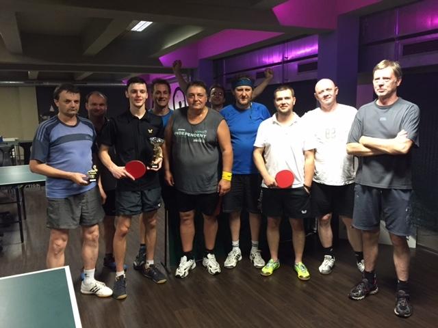 Poslední turnaj jarní série ve stolním tenise v Harlequinu Praha, začíná nová série podzim 2015