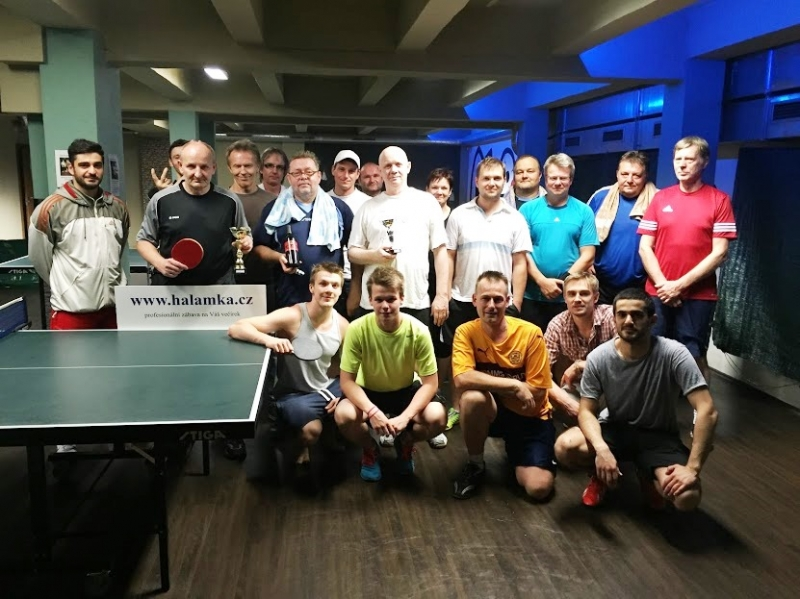 Ve vedru rekordní návštěvy-výsledky turnajů ve stolním tenise, podzim 2015