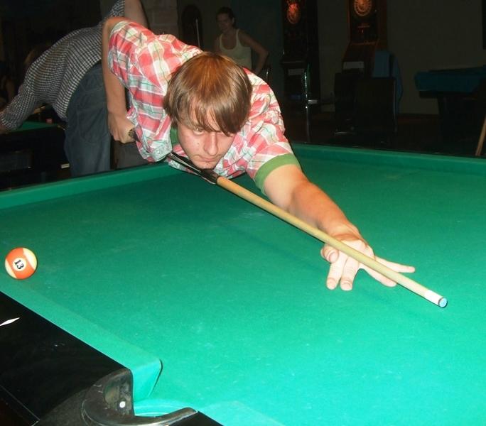 Honza Hanuš billiard