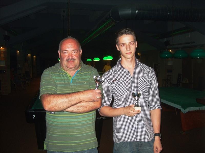 Láďa Janeček a Tomáš Švorc - billiard - kulečník - ping pong Praha 10