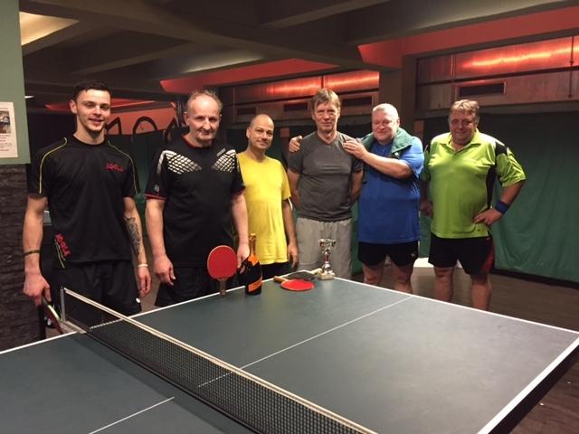 Konečná tabulka turnajů ve stolním tenise 2016, poslední turnaj roku 20165 vyhrál Honza Hamáček!