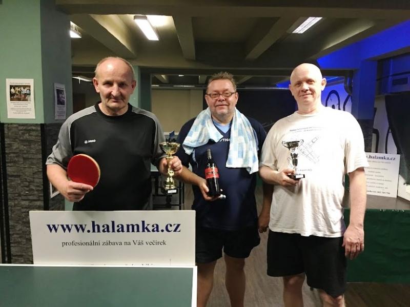 Výsledky turnajů v kulečníku a stolním tenise podzim 2018