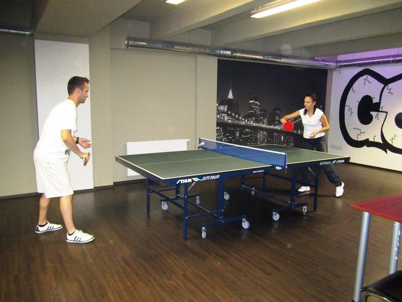 Tomáš Tejnor a Michaela Madová - kulečník, billiard, ping pong Praha 10, Harlequin Praha