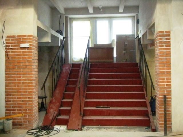 vstupní schody