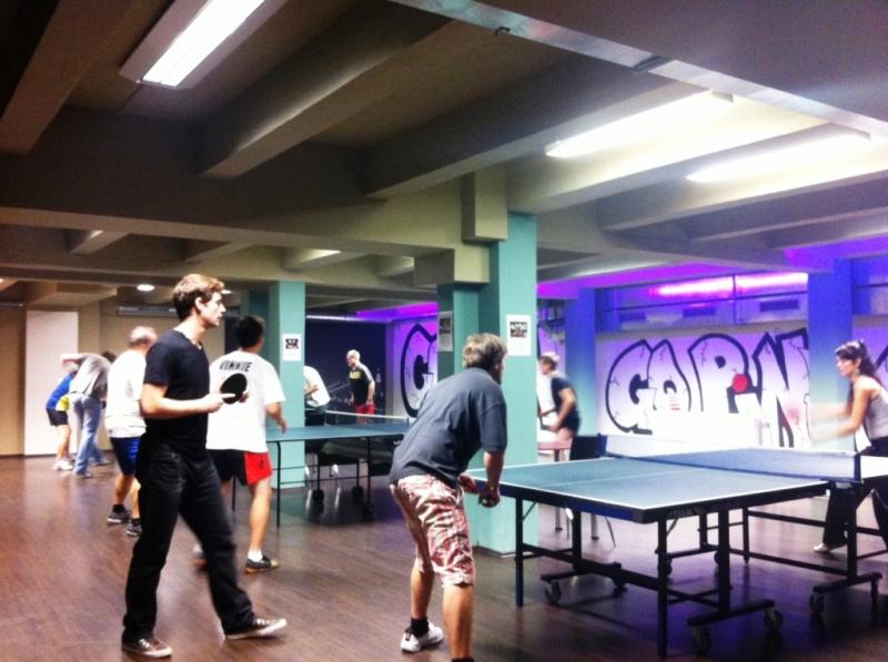 Ping pong jednotlivců, rekord 31 hráček a hráčů,celkově 135 hráček a hráčů!