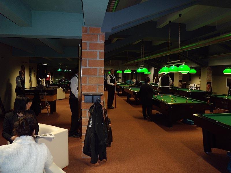 MR seniorů - zkušební provoz billiard - kulečník - ping pong Praha 10