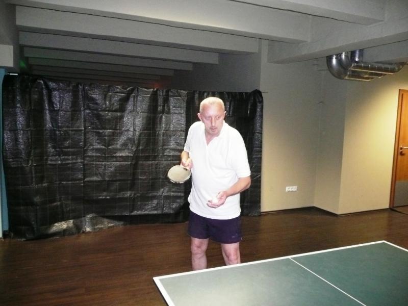 Na příští ping pongový turnaj je opět pozván Antonín Panenka, výsledky turnajů 2013