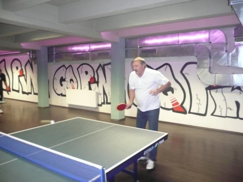 Antonín Panenka hraje v Harlequinu Praha 10 kulečníkový billiardový klub