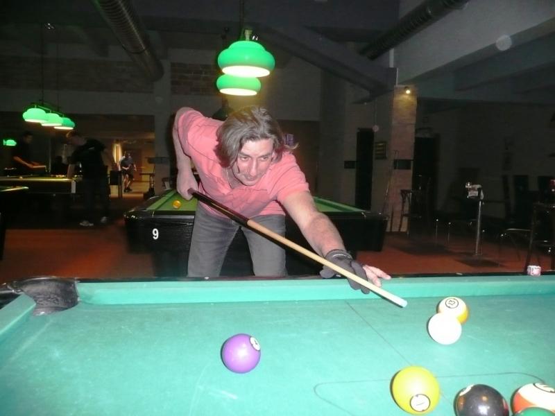 Petr Neméš v Harlequinu Praha 10, čerstvé výsledky kulečník, ping pong.