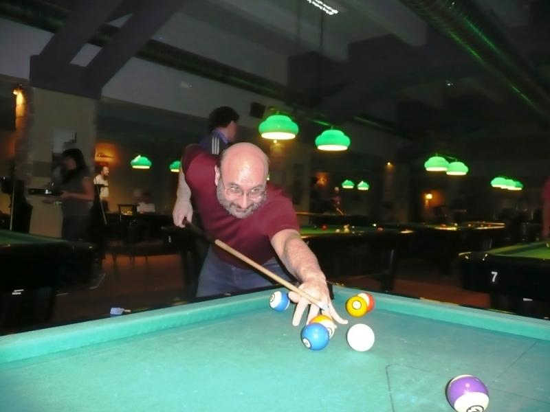 Tomáš Joska v Harlequinu Praha 10, čerstvé výsledky kulečník, ping pong.