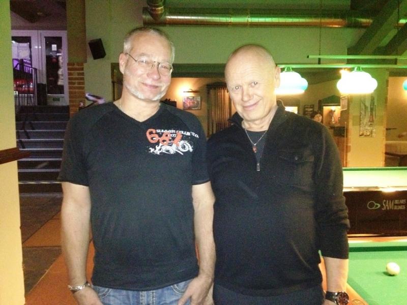 Pavel Halamka a Jiří Korn - Kulečníková škola billiard Harlequin
