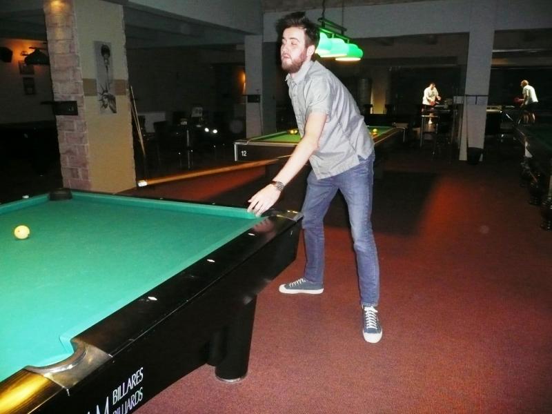 Evgenyj ani netiušil, že se dá pool tak rychle naučit!