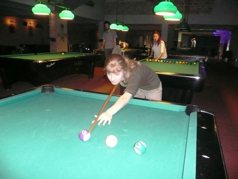 Kulečníkový billiardový středeční seminář - další nové tváře!