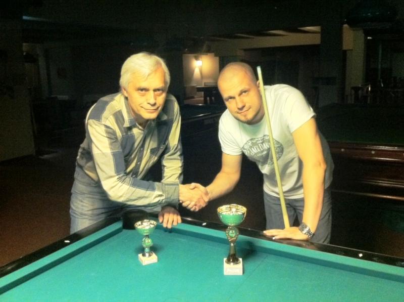 Výsledky ping pongových turnajů a kulečníkových v kulečníkovém billiardovém klubu Harlequin Praha 10