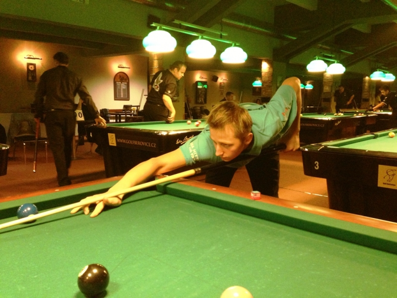 Erik Kůs - Mistrovství Prahy 10 v poolbilliardu 2013