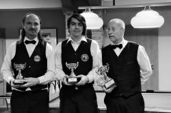 Mistrovství republiky seniorů v poolbilliardu 2014 stříbrná medaile pro klub Harlequin Praha