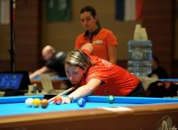 Veronika Hubrtová na ME a čerstvé výsledky ping pongu, billiard Harlequin Praha