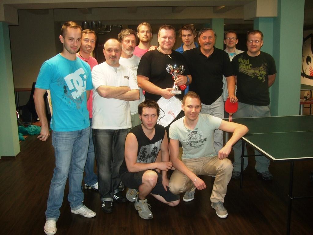hráči billiard - kulečník - ping pong Praha 10