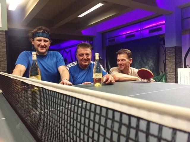 Výsledky podzimní části turnajů v stolním tenise