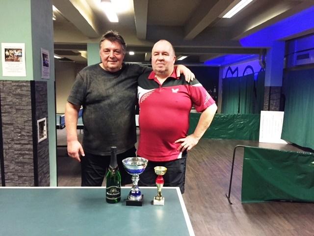 Vánoční turnaj ve stolním tenise vyhrál Tomáš Dorko - výsledky podzimu 2016