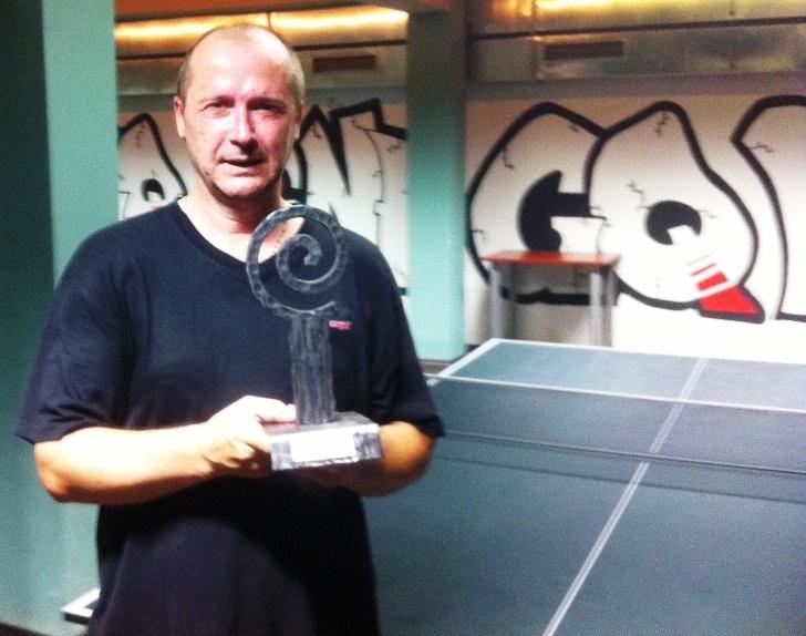 Josef Tschunko vítěz billiard - kulečník - ping pong Praha 10