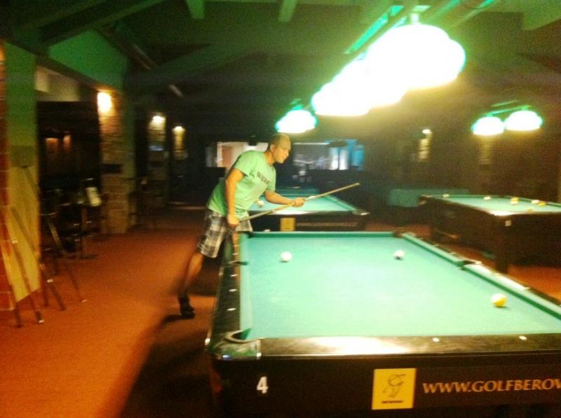 Lukáš Křenek - kulečník, billiard, ping pong Harlequin Praha 10