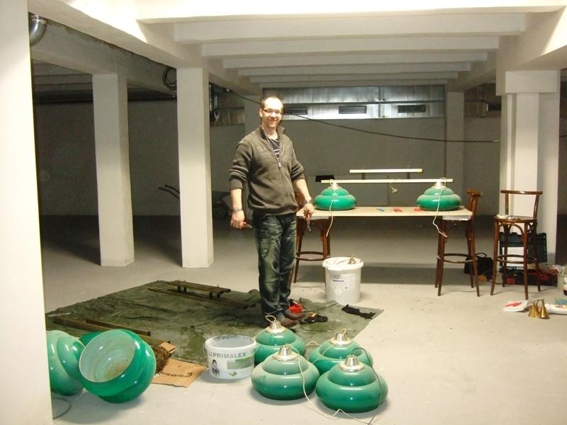 Karel Marcolli opravil všechny světla billiard - kulečník - ping pong Praha 10
